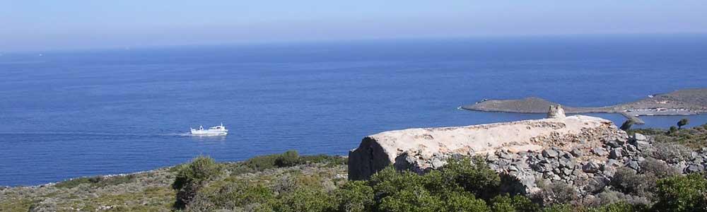 Die griechische Insel Kythira